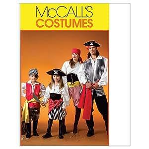 McCall's Patterns M4952 Misses'/Men's/Children's/Boys' / Girls' Costumes, Size KID [(3-4) (5-6) (7-8)]