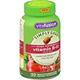 Vitafusion Simply Good High Potency Vitamin B-12, Pomegranate, 130 Gummies