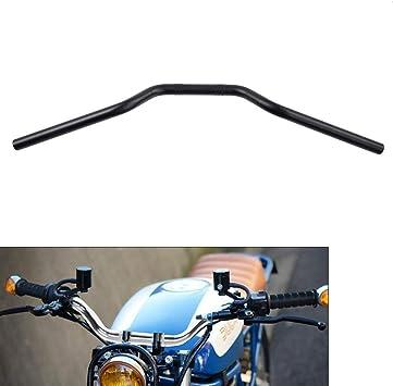"7//8/"" Steel Universal Street Tracker Motorcycle Handlebars Chrome"