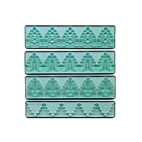 FMM Sugarcraft CUTTXL3 - Set de moldes para decorar pasteles diseño de lazos: Amazon.es: Hogar