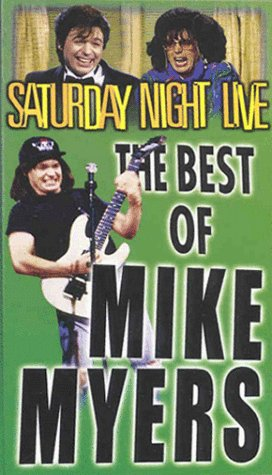 Saturday Night Live: The Best of Mike Myers [VHS] (The Best Of Cheri Oteri)