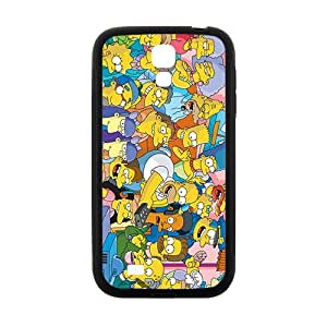 NICKER Simpsons movie Case Cover For samsung galaxy S4 Case