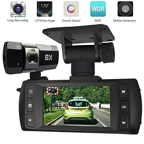 Dash Cam for Cars, 1080P Full HD Front Dash Camera Trucks Driving Recorder with Super Night Vision Dashboard Cameras for Vehicles