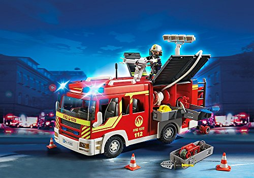 PLAYMOBIL Fire Engine with Lights and - Ladder Playmobil