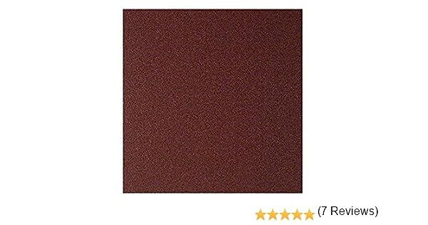 Pliego de lija manual Bosch 2609256B66 para madera y pintura, P80, 23 x 28 cm