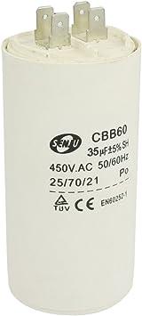 Motor de salida de condensador para lavadora 35 uf 50/60 hz ...
