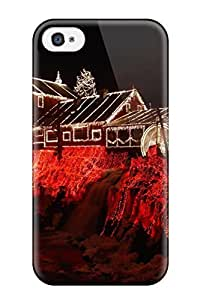 New Premium AmandaMichaelFazio Amazing Red Skin Case Cover Excellent Fitted For Iphone 4/4s