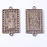 2pcs Feng Shui Chinese Mazu Safe Coins Pendant Conect W Fengshuisale Bag Y1093