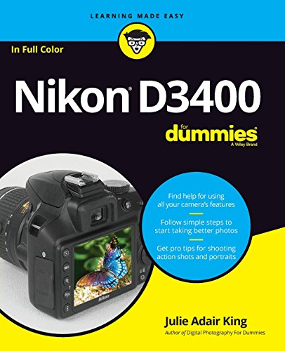Nikon D3400 For Dummies (Dslr Models)