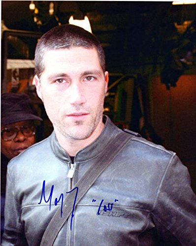 Matthew Fox Signed Autographed 8x10 Lost Photo - Photo Signed Fox Matthew