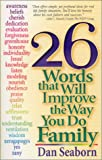 26 Words That Will Improve the Way You Do Family, Dan Seaborn, 1569553009