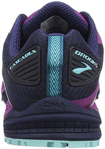 Damen Blue 12 Brooks Mehrfarbig Traillaufschuhe 1b533 Cascadia Plumnavyice 4UFAwpxAdq