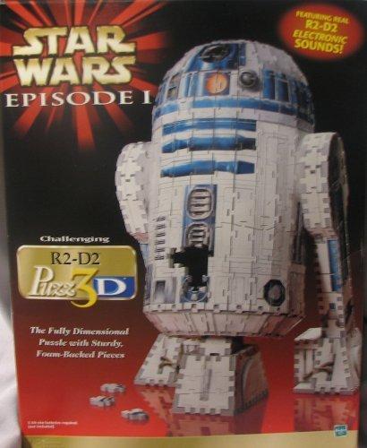 3d Puzzle Wars Star - Star Wars Episode 1 R2-D2 3D Puzzle