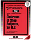 Chairman, Shop Subjects, Sr. H. S., Rudman, Jack, 0837381746