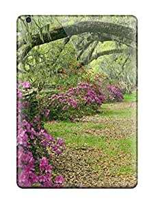 High Quality Flower Azaleas And Live Case For Ipad Air / Perfect Case