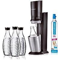 sodastream Crystal 2.0 Aktionspack Wassersprudler, inkl. 3 Glasflaschen