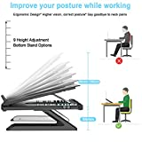 Homder Laptop Stand,Multi-Angle Adjustable Laptop