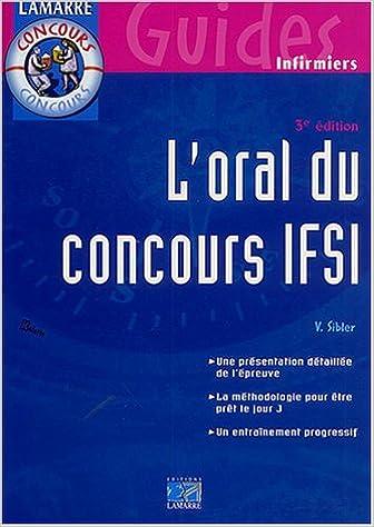 Lire L'oral du concours IFSI pdf ebook