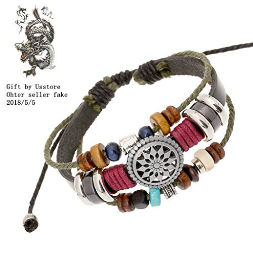 Usstore Women Lady Bohemia Wind Beaded Multilayer Hand