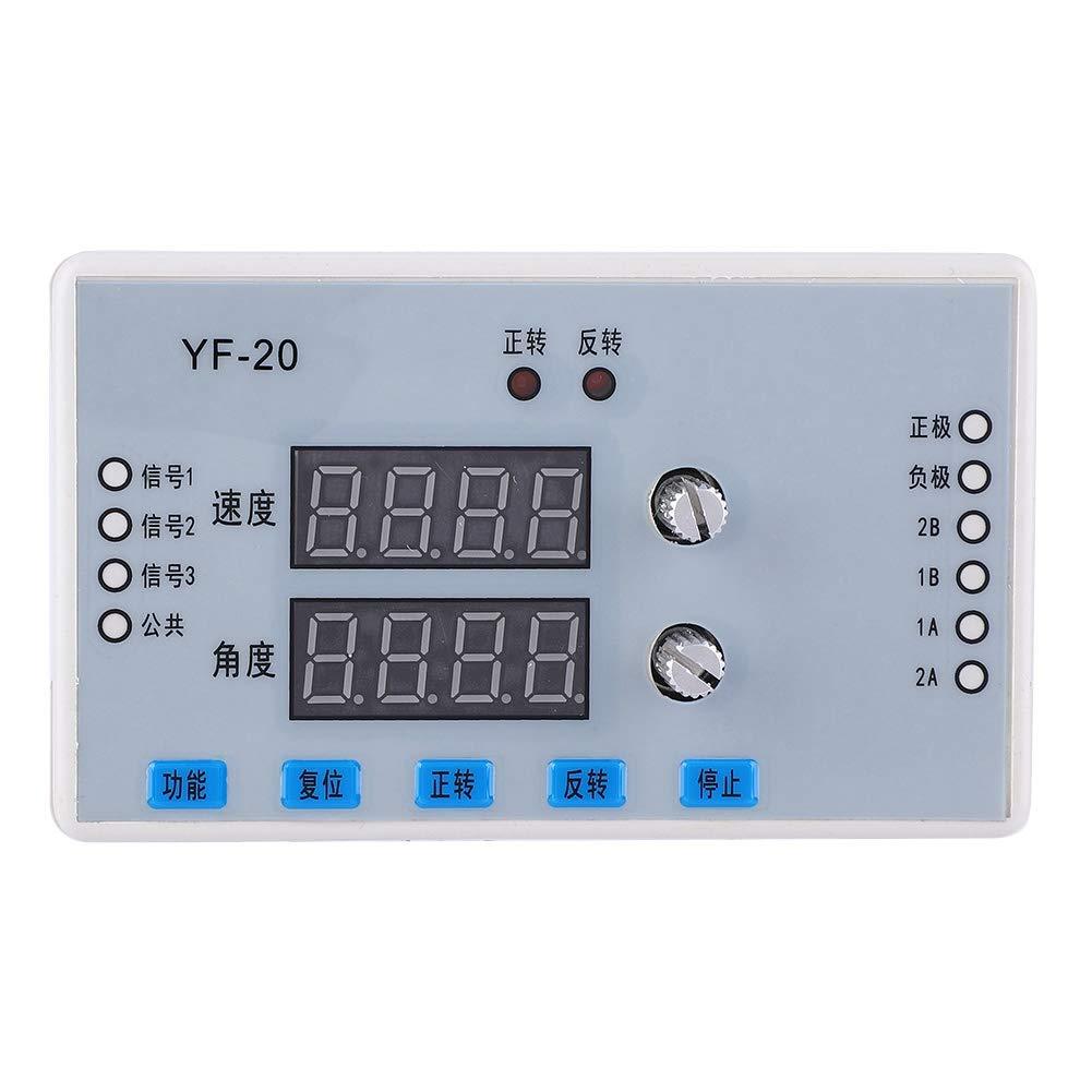 estable Caja fuerte 7-30V DC Pantalla digital Motor paso a paso Controlador de velocidad Controlador Controlador M/ódulo de control Controlador de velocidad