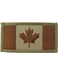 MIL-SPEC Canadian Flag Patch Desert