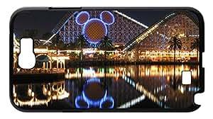 The US Walt Disney Case for Samsung Galaxy Note 2 N7100,night scene phone Case for Samsung Galaxy Note 2 N7100.