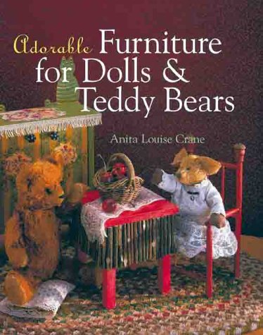 Adorable Furniture For Dolls And Teddy Bears