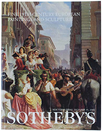 Download Fine 19th Century European Paintings & Sculpture - Sotheby's New York - March 8, 2000 (Chintreuil, T. Ribot, Jacque, Diaz, and many others) pdf epub