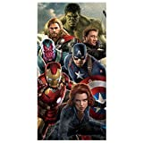 Avengers Age of Ultron Beach Bath Cotton Towel