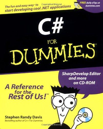 C# For Dummies