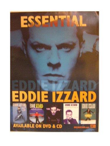 Eddie Izzard Poster Essential Blue Face Izard Eddy