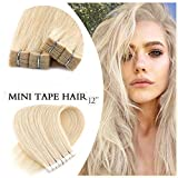 """Best Hair Extensions - Neitsi 6A 20pcs 12"""" 25g/lot Straight M Tape Review"""