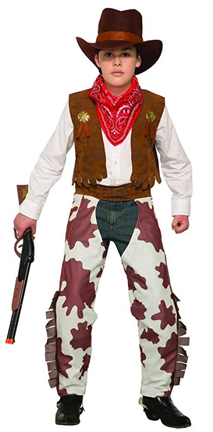 c7a6f6391 Amazon.com: Forum Novelties Child's Cowboy Costume, Large: Toys & Games