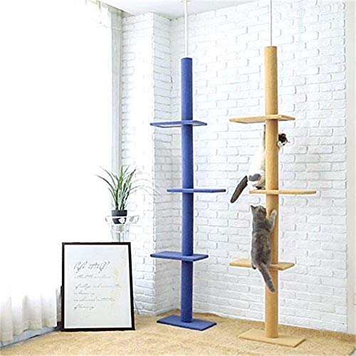 V.JUST Floor to Ceiling Cat Tree Cat Review