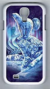 Find 11 Polar Bears Polycarbonate Hard Case Cover for Samsung Galaxy S4/Samsung Galaxy I9500 White
