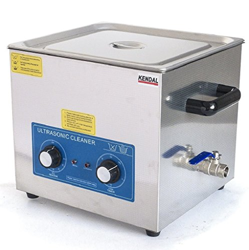 Kendal Commercial Grade 9 Liters 540 Watts HEATED ULTRASONIC CLEANER HB-49MHT by Kendal