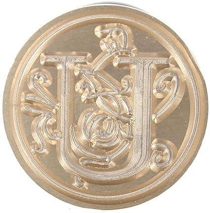 Lettera A Westeng 1 PZ Sigillo Timbro Personalizzato Ceralacca con 26 Lettere Maiuscole Inglesi