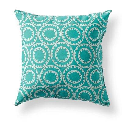 Amazon Com Ziggy Blue Outdoor Throw Pillow Ziggy Blue 12 X 20