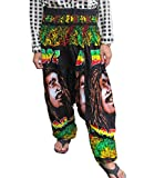 LOVELY BOB MARLEY BEAUTIFUL HILL TRIBE STYLE GENUINE RAYON''
