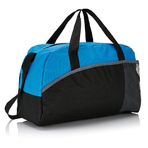 XD-Borsone da Sport, grande formato, 44 cm, 30 L, colore: blu