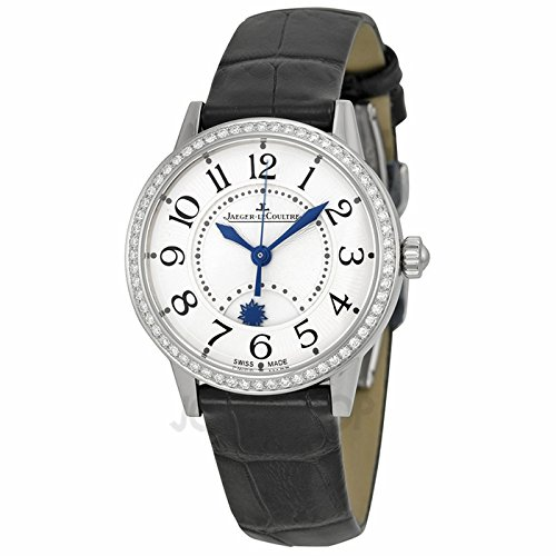 Jaeger LeCoultre Jaeger LeCoultre Rendez-Vous noche y día Plata Dial Diamante Cuero Damas Reloj