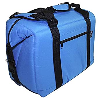 NorChill Voyager Series 12 Can Soft Cooler, Blue