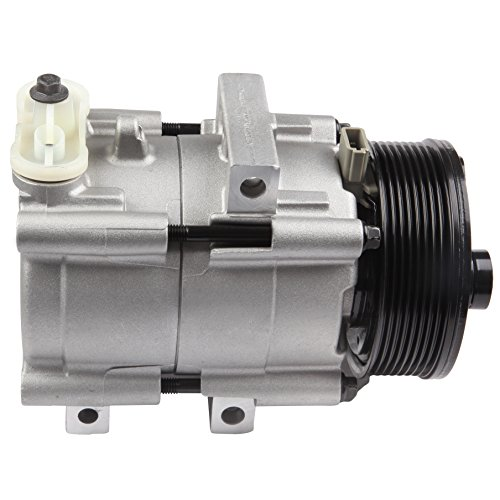 AC Compressor and A/C Cluth ECCPP Automotive Replacement Compressor Assembly for 1997-2001 Ford E-150 E-250 E-350 Econoline 1997-2002 Ford Expedition CO 101490C ()
