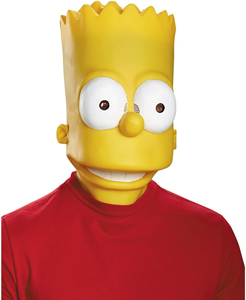 Disguise Men's Bart Adult Costume Mask
