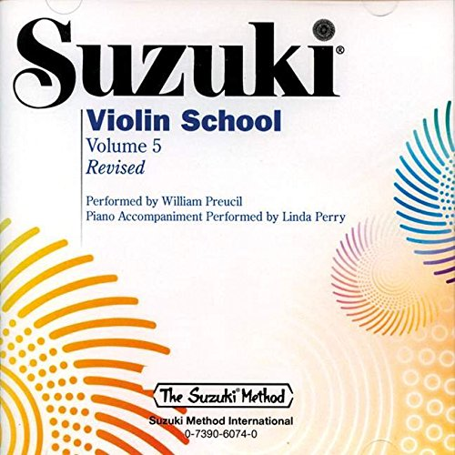 Suzuki Violin School, Vol. 5 (The Suzuki Method)