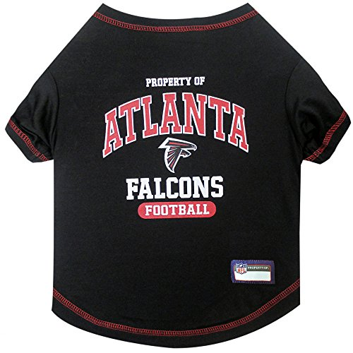 (NFL ATLANTA FALCONS Dog T-Shirt, Medium. - Cutest Pet Tee Shirt for the real sporty pup)