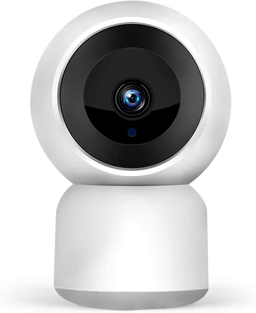 1080P WiFi Wireless Security IP Camera 2 Way Talk, 2MP HD Night Vision, Motion Detection, 2.4Ghz Indoor PTZ Horizontal 350 Degree, Vertical 90 Degrees for Monitor Baby, Pet,Home
