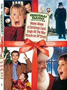 Christmas Classics Box Set (Miracle on 34th Street / Jingle All the Way / Home Alone / A Christmas Carol)