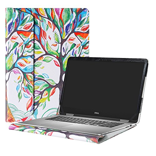 Alapmk Protective Case Cover For 15.6 Dell Inspiron 15 2-in-1 7573 i7573 & Inspiron 15 i7570 i7580 7570 7580 Laptop(Warning:Only fit model 7573 7570),Love Tree