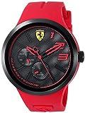 Scuderia Ferrari Men's 'FXX' Quartz Resin and Silicone Casual Watch, Color Red (Model: 0830396)